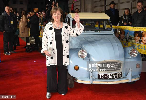 Pauline Collins attends the World Premiere of 'The Time Of Their Lives' at The Curzon Mayfair on March 8 2017 in London England