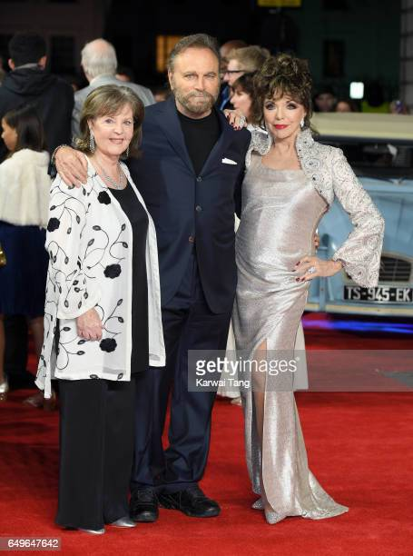Pauline Collins Franco Nero and Dame Joan Collins attend the World Premiere of 'The Time Of Their Lives' at the Curzon Mayfair on March 8 2017 in...