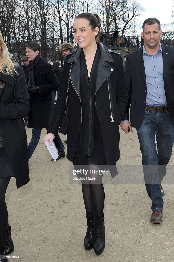 Pauline Ducruet arrives at the Valentino show as part of the Paris Fashion Week Womenswear Fall/Winter 2014-2015 on March 4, 2014 in Paris, France.