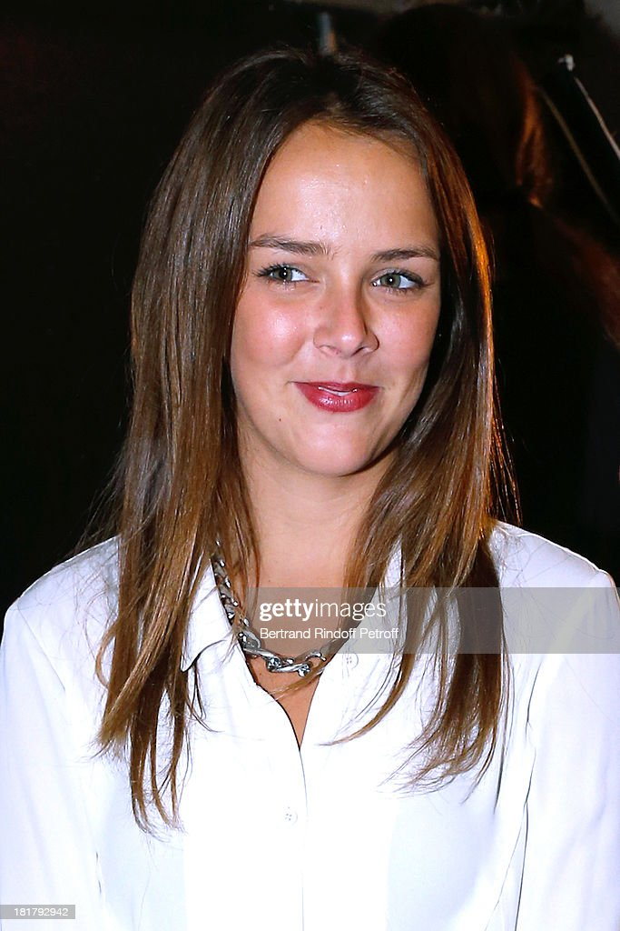 <a gi-track='captionPersonalityLinkClicked' href=/galleries/search?phrase=Pauline+Ducruet&family=editorial&specificpeople=2084053 ng-click='$event.stopPropagation()'>Pauline Ducruet</a> attends Alexis Mabille show as part of the Paris Fashion Week Womenswear Spring/Summer 2014 at Docks en Seine on September 25, 2013 in Paris, France.