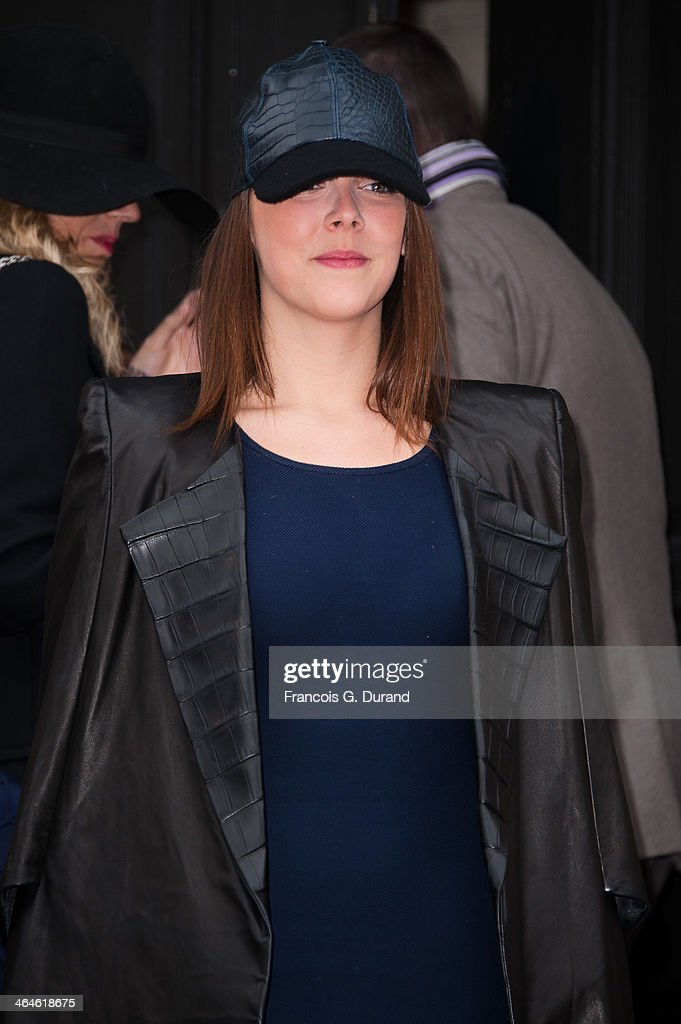 Pauline Ducruet attends the Didit show as part of Paris Fashion Week Haute Couture Spring/Summer 2014> on January 23, 2014 in Paris, France.