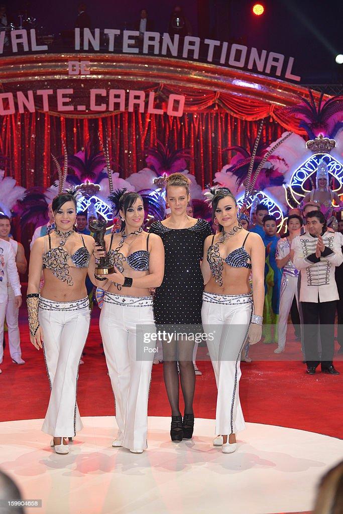 Pauline Ducruet attends the Monte-Carlo 37th International Circus Festival Closing Ceremony on January 22, 2013 in Monte-Carlo, Monaco.
