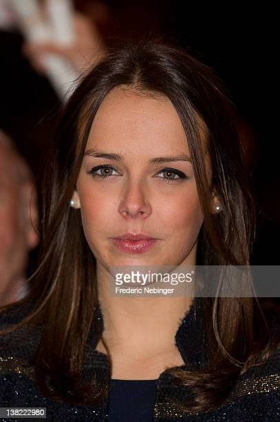 Pauline Ducruet attends the 'New Generation' First Young Artists Circus Competition in Monaco at Chapiteau de Fontvieille on February 4 2012 in...