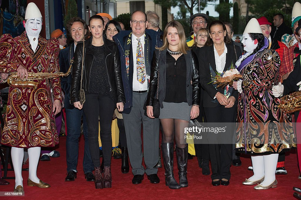<a gi-track='captionPersonalityLinkClicked' href=/galleries/search?phrase=Pauline+Ducruet&family=editorial&specificpeople=2084053 ng-click='$event.stopPropagation()'>Pauline Ducruet</a>, <a gi-track='captionPersonalityLinkClicked' href=/galleries/search?phrase=Prince+Albert+II+of+Monaco&family=editorial&specificpeople=201707 ng-click='$event.stopPropagation()'>Prince Albert II of Monaco</a>, Camille Gottlieb and <a gi-track='captionPersonalityLinkClicked' href=/galleries/search?phrase=Princess+Stephanie+of+Monaco&family=editorial&specificpeople=171100 ng-click='$event.stopPropagation()'>Princess Stephanie of Monaco</a> attend the 38th International Circus Festival on January 19, 2014 in Monte-Carlo, Monaco.