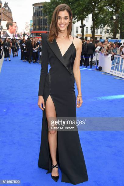 Pauline Hoarau attends the European Premiere of 'Valerian And The City Of A Thousand Planets' at Cineworld Leicester Square on July 24 2017 in London...