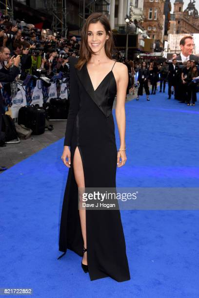 Pauline Hoarau attends the European premiere of 'Valerian and The City of a Thousand Planets' at Cineworld London on July 24 2017 in London England