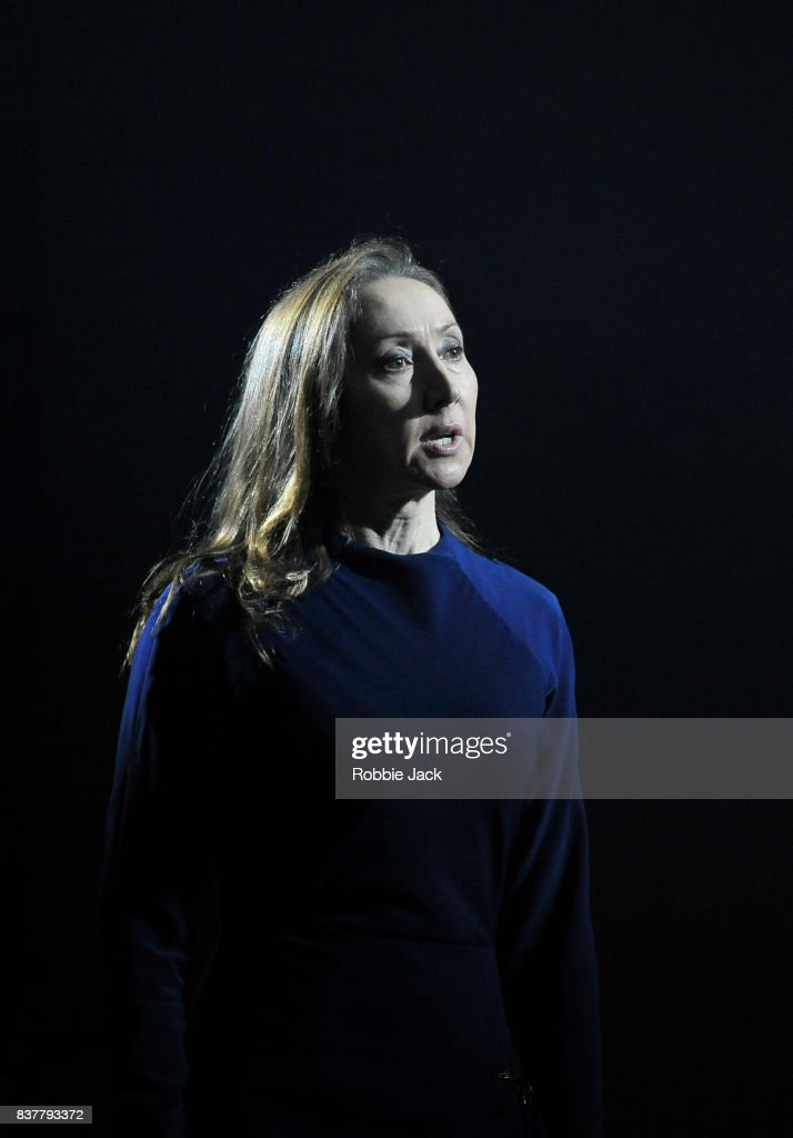 Pauline Knowles as Clytemnestra in The Citizens Theatre production of Zinnie Harris's Oresteia:This Restless House as part of the Edinburgh International Festival at The Royal Lyceum Theatre on August 22, 2017 in Edinburgh, Scotland.