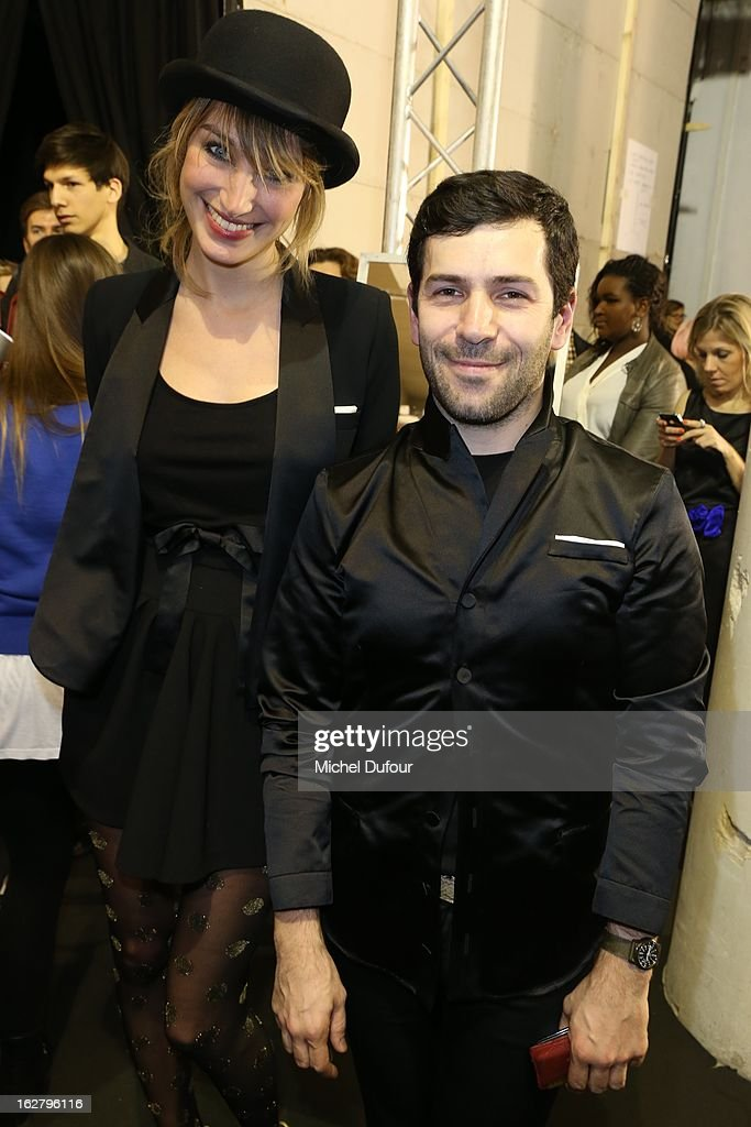 <a gi-track='captionPersonalityLinkClicked' href=/galleries/search?phrase=Pauline+Lefevre&family=editorial&specificpeople=5853150 ng-click='$event.stopPropagation()'>Pauline Lefevre</a> and Alexis Mabille attend the Alexis Mabille Fall/Winter 2013 Ready-to-Wear show as part of Paris Fashion Week on February 27, 2013 in Paris, France.
