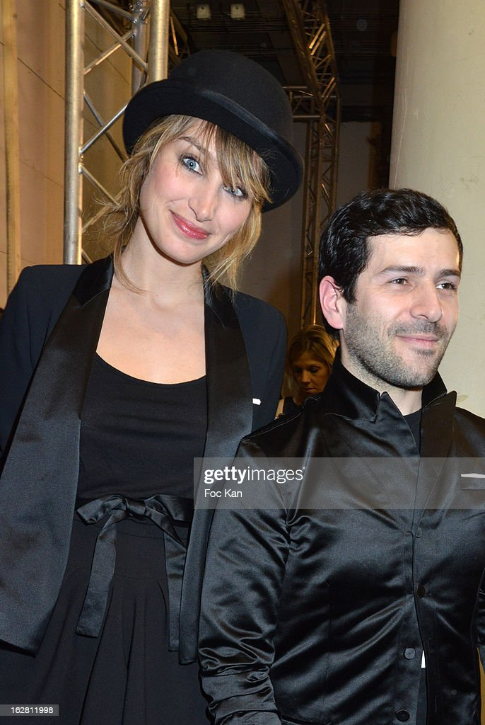 <a gi-track='captionPersonalityLinkClicked' href=/galleries/search?phrase=Pauline+Lefevre&family=editorial&specificpeople=5853150 ng-click='$event.stopPropagation()'>Pauline Lefevre</a> and Alexis Mabille attend the Alexis Mabille- Front Row - PFW F/W 2013 at Palais de Tokyo on February 27, 2013 in Paris, France.