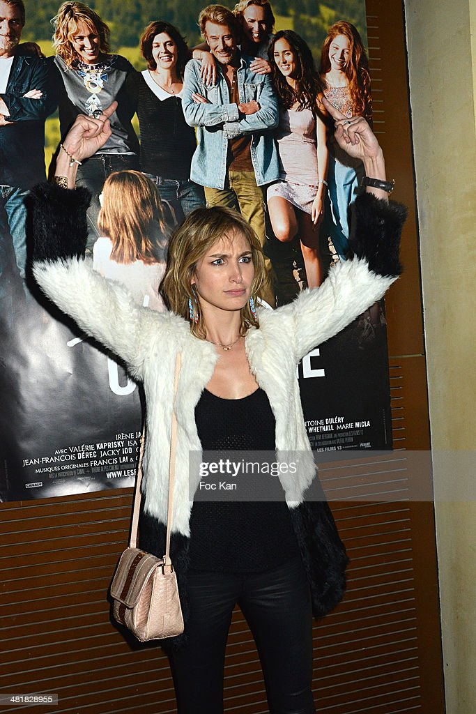 'Salaud On T'Aime' : After Party At Cinema L'Elysee Biarritz In Paris