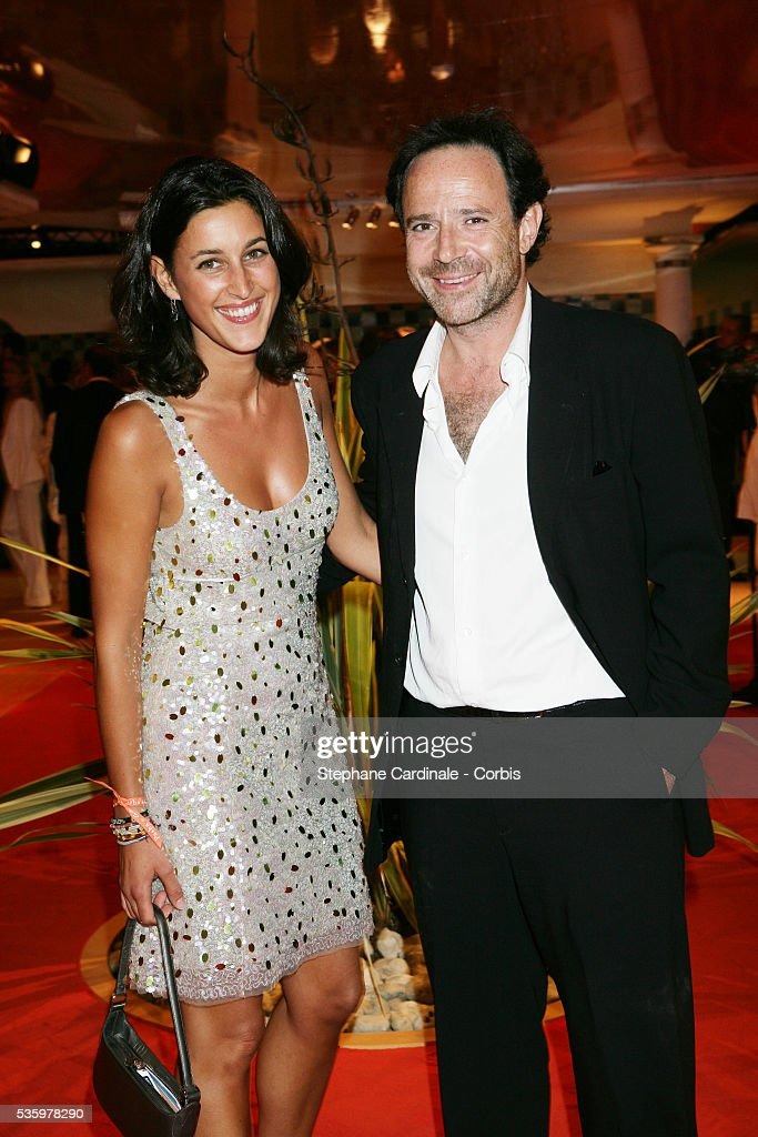 Pauline Leveque, Marc Levy at the 'Cartier Party' at the 31st American Deauville Film Festival.