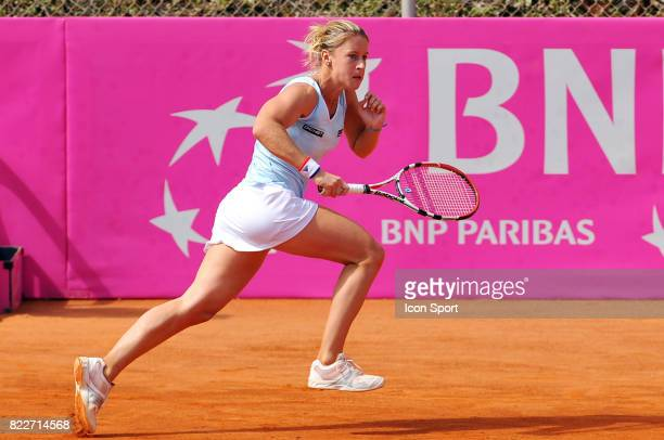 Pauline PARMENTIER Allemagne / France Barrage Fed Cup 2010 Leipzig