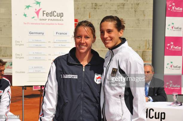Pauline PARMENTIER / Andrea PETKOVIC Fed Cup 2010