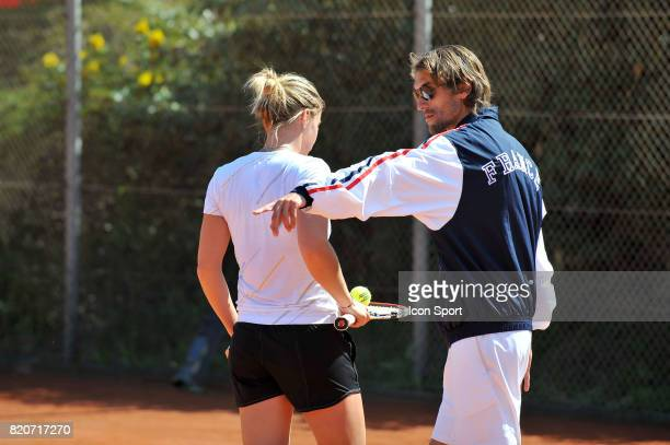 Pauline PARMENTIER / Nicolas ESCUDE Fed Cup 2010