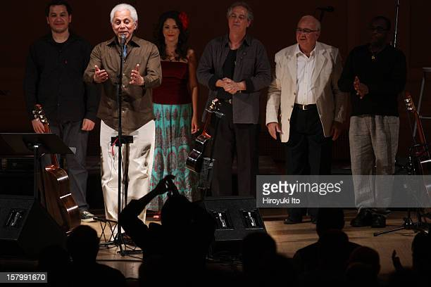 Paulinho da Viola from Brazil performing at Carnegie Hall on Wednesday night November 28 2012The concert is part of Carnegie Hall's Voice's from...