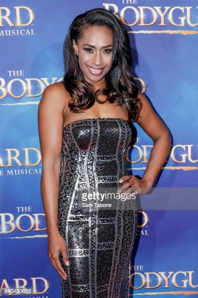 Paulini during a production media call for The Bodyguard at Regent Theatre on August 29 2017 in Melbourne Australia