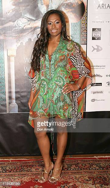 Paulini during Camilla Franks 'Women of the World' Book Launch April 4 2007 at King Street Wharf in Sydney NSW Australia