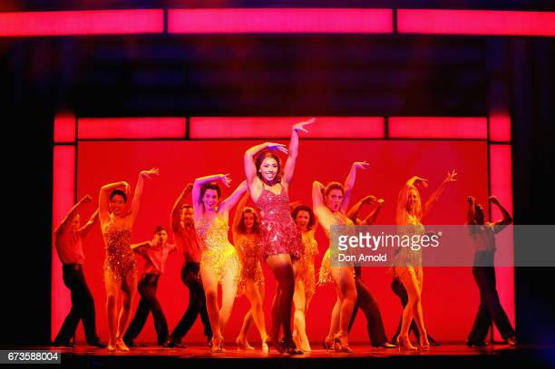 Paulini performs the role of Rachel Marron during a production media call for The Bodyguard The Musical at Lyric Theatre Star City on April 27 2017...