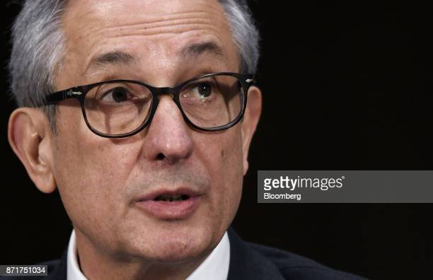 Paulino do Rego Barros interim chief executive officer of Equifax Inc testifies during a Senate Commerce Science and Transportation Committee hearing...