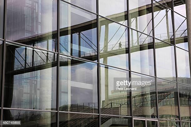 Paul-Lobe-Haus and Marie-Elizabeth-Luders Haus, Bundestag building complex, Berlin, Germany
