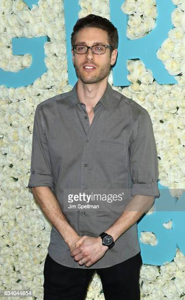 Paulo Costanzo attends the the New York premiere of the sixth and final season of 'Girls' at Alice Tully Hall Lincoln Center on February 2 2017 in...