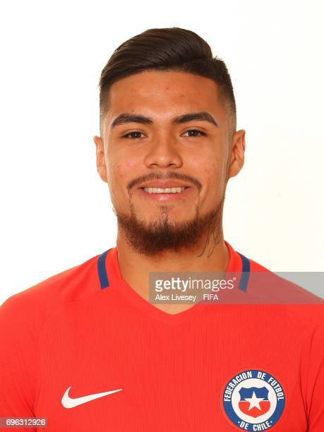 Paulo Diaz of Chile during a portrait session ahead of the FIFA Confederations Cup Russia 2017 at the Crowne Plaza Hotel on June 15 2017 in Moscow...