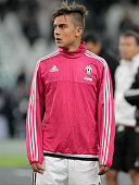 Paulo Dybala before the serie A match between Juventus FC and AC Milan at the juventus stadium on november 21 2015 in torino italy