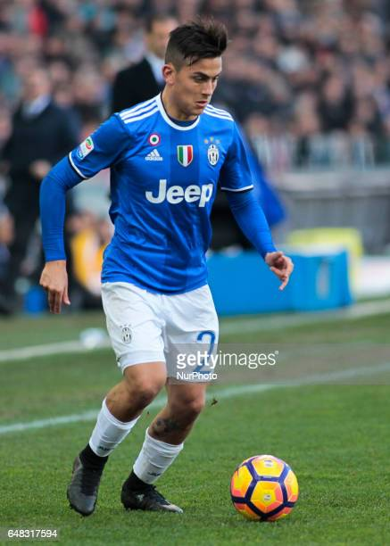 Paulo Dybala during Serie A match between Udinese v Juventus in Udine on March 25 2017