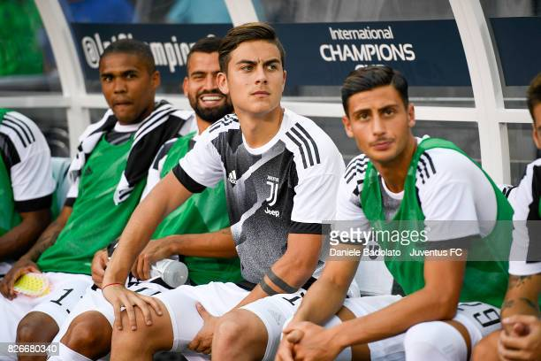Paulo Dybala of Juventus before the International Champions Cup match between Juventus and Barcelona at MetLife Stadium on July 22 2017 in East...