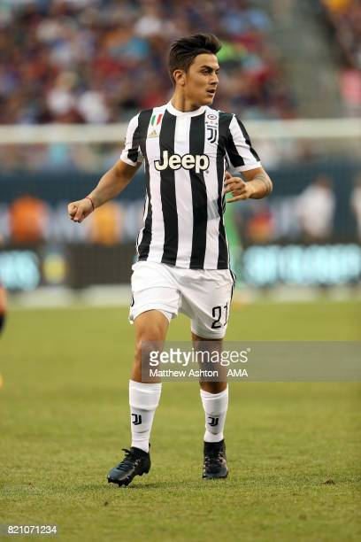 Paulo Dybala of Juventus during the International Champions Cup 2017 match between Juventus and FC Barcelona at MetLife Stadium on July 22 2017 in...