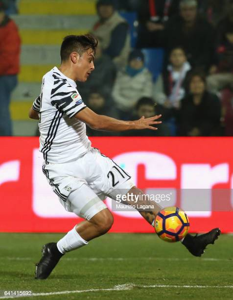 Paulo Dybala of Juventus during the Serie A match between FC Crotone and Juventus FC at Stadio Comunale Ezio Scida on February 8 2017 in Crotone Italy