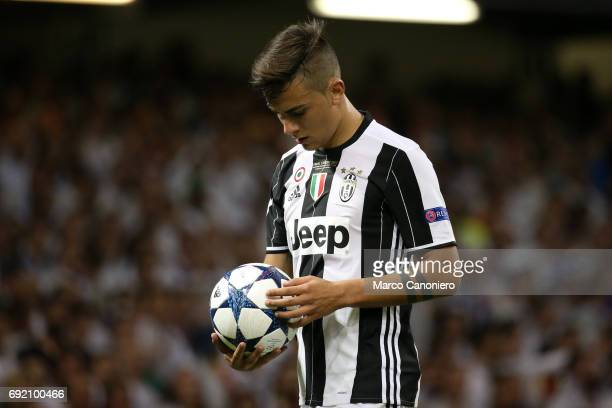 Paulo Dybala of Juventus FC during the UEFA Champions League final match between Juventus FC and Real Madrid CF Real Madrid beat Juventus 41 to win...