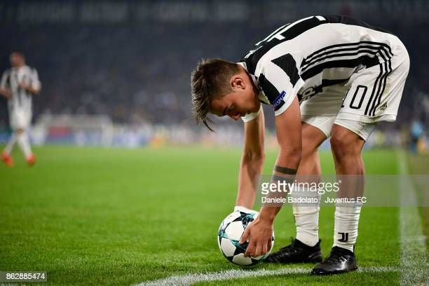 Paulo Dybala of Juventus in action during the UEFA Champions League group D match between Juventus and Sporting CP at Allianz Stadium on October 18...