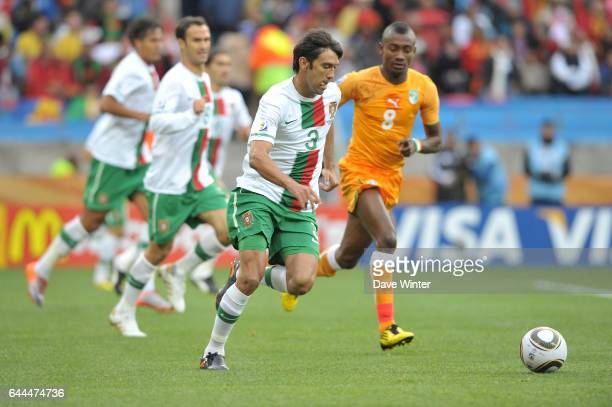 Paulo FERREIRA Cote d'Ivoire / Portugal Coupe du Monde 2010 Match 13 Groupe G Nelson Mandela Bay Stadium Port Elizabeth Afrique du Sud Photo Dave...