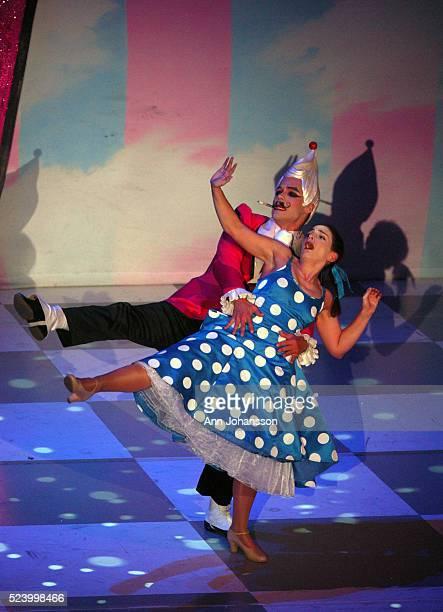 Paulo Kadow performs as Knickerbocker Glory with Etta Murfitt as Clara in Tony Awardwinning director and choreographer Matthew Bourne's modern ballet...