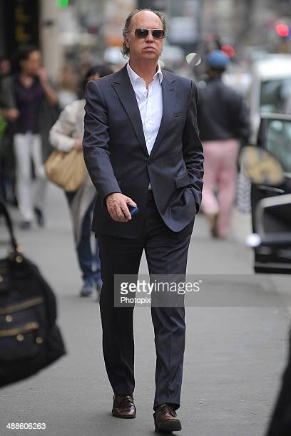 Paulo Roberto Falcao is seen on May 7 2014 in Milan Italy