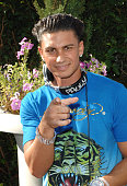 Pauly D at the Premiere Radio KIIS FM 'Now 34 And The Jersey Shore' Party at Hollywood Tower on July 11 2010 in Los Angeles California