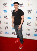 Pauly D attends the WWE SummerSlam VIP KickOff Party at Beverly Hills Hotel on August 16 2012 in Beverly Hills California