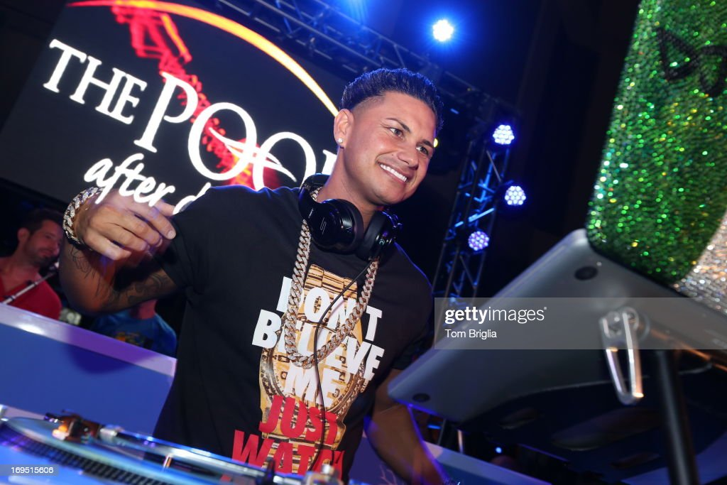 DJ Pauly D hosts & performs at The Pool After Dark at Harrah's Resort on Saturday May 25, 2013 in Atlantic City, New Jersey.