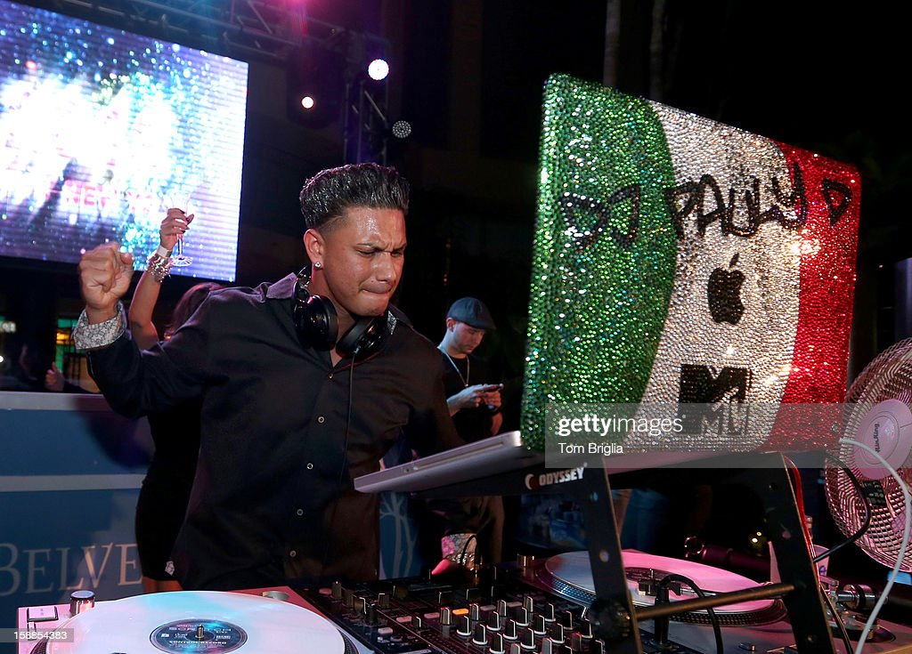 DJ Pauly D performs at The Pool After Dark at Harrah's Resort on Monday December 31, 2012 in Atlantic City, New Jersey.