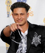 Pauly Del Vecchio in the press room at the 2010 MTV Movie Awards at the Gibson Amphitheatre on June 6 2010 in Universal City California