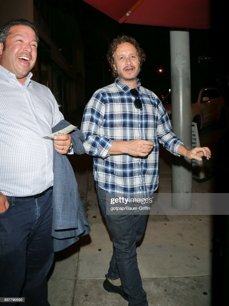Pauly Shore is seen on August 22, 2017 in Los Angeles, California.