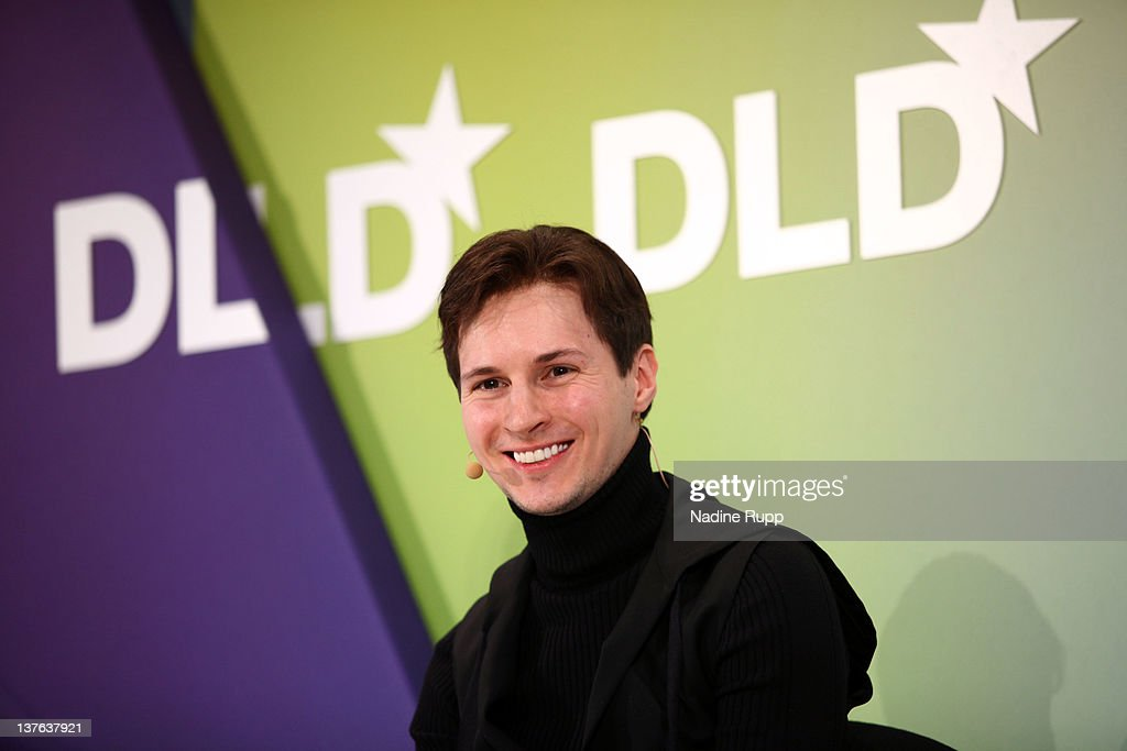 Pavel Durov of Vkontakte speaks during the Digital Life Design conference (DLD) at HVB Forum on January 24, 2012 in Munich, Germany. ence and culture which connects business, creative and social leaders, opinion-formers and investors for crossover conversation and inspiration.