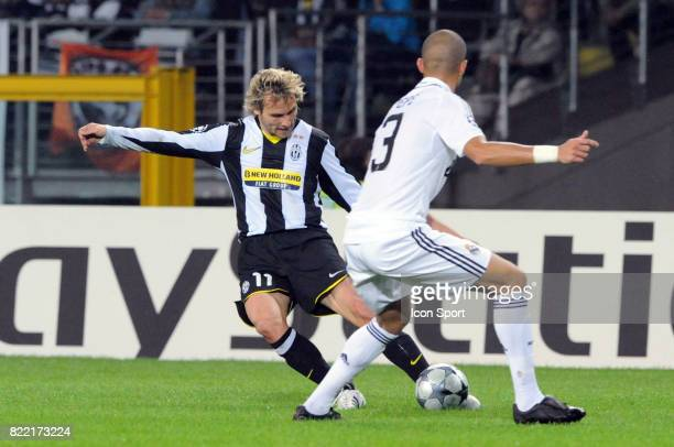Pavel NEDVED Juventus Turin / Real madrid 1er tour Champions League