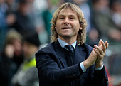 Pavel Nedved before the Serie A match betweenJuventus FC and Carpi FC at Juventus Stafium on may 1 2016 in Torino Italy