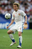 Pavel Nedved of Czech Republic in action during the FIFA World Cup Germany 2006 Group E match between USA and Czech Republic at the Stadium...