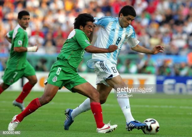 Pavel PARDO / RIQUELME Argentine / Mexique 1/2 Finale Coupe des Confederations