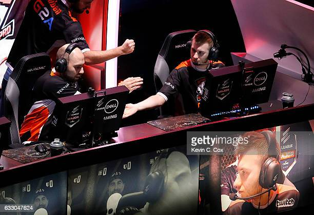 Pawe¸ 'byali' BieliÄski and Wiktor 'TaZ' Wojtas of VirtusPro compete during the ELEAGUE CounterStrike Global Offensive Major Championship finals at...