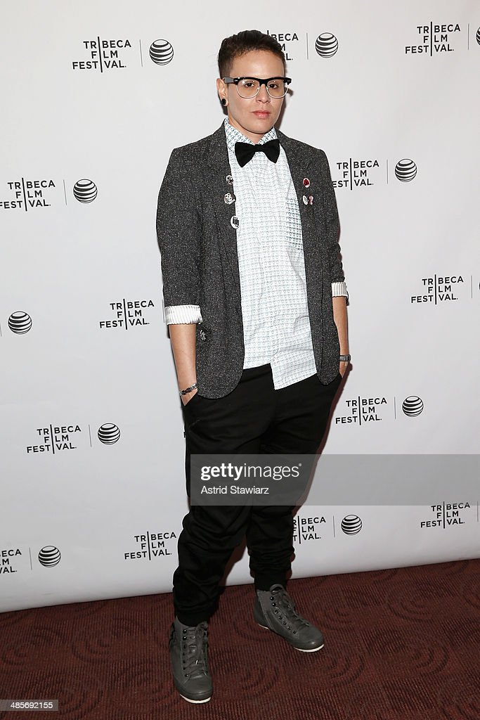 Paxx Moll attends the 'Mala Mala' Premiere during the 2014 Tribeca Film Festival at Chelsea Bow Tie Cinemas on April 19 2014 in New York City