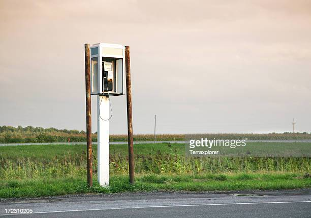 Pay Phone By Road